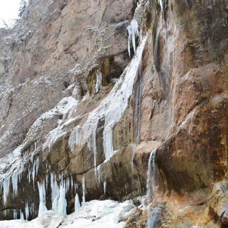 Кабардино-Балкария. Чегемские водопады. Кавказ