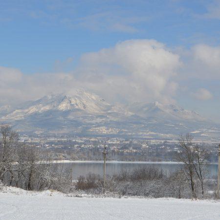 Зима Пятигорск, гора Бештау