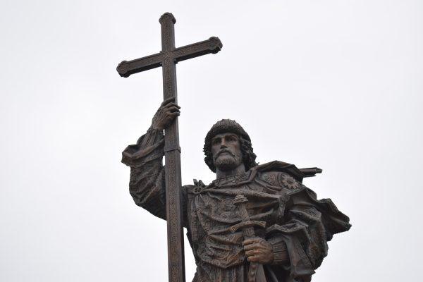 Памятник князю Владимиру, Москва, Боровицкая площадь