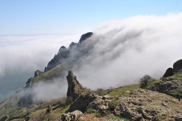 Коктебель Потухший вулкан Кара-Даг