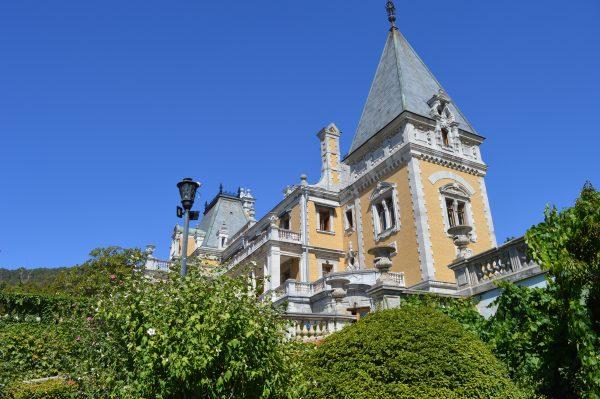 Крым Массандровский дворец
