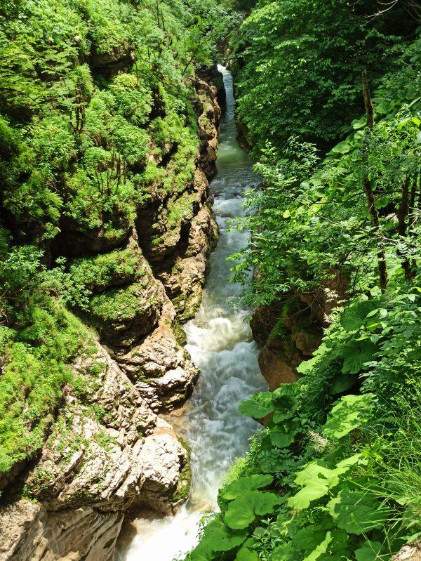Гуамское ущелье, Краснодарский край, Апшеронск