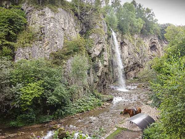 Медовые водопады в окрестностях Кисловодска