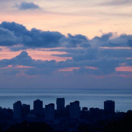 Сочи панорама на город