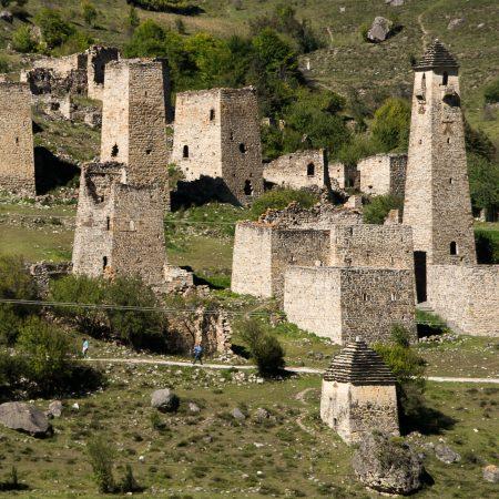 Ингушетия, родовые башни