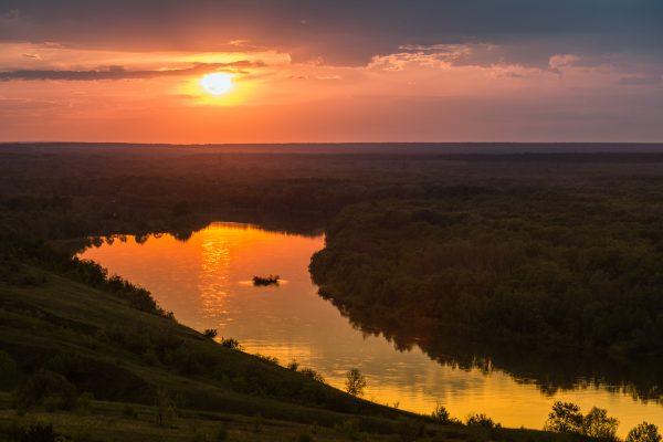 Вешенская Река Дон