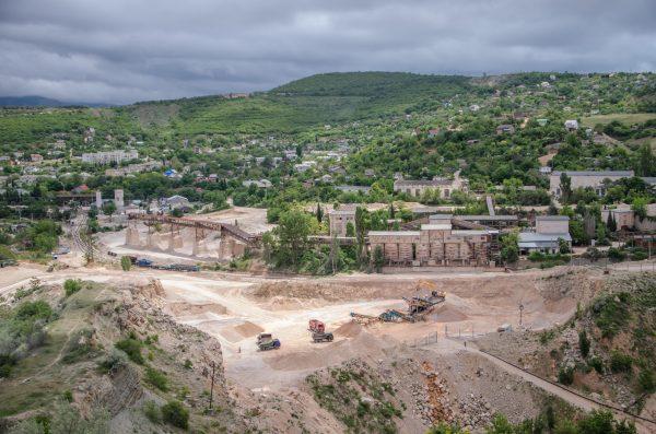 Крым Севастополь Балаклавское рудоуправление