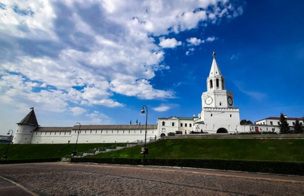 Казань, Кремль в центре Казани