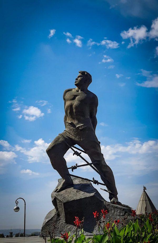 Казань, памятник Муса Джалиль