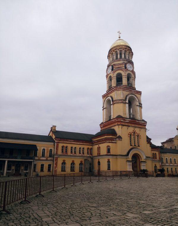 Абхазия Новоафонский монастырь