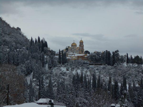 симоно-канонитский монастырь. новый афон. абхазия