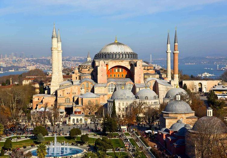 Турция мечеть Айя София