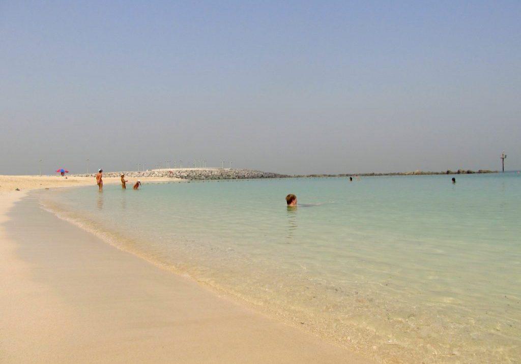 ОАЭ Шарджа пляж