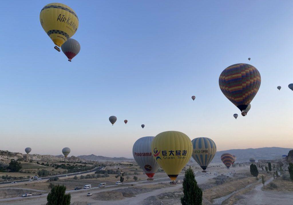 Турция Каппадокия воздушный шар