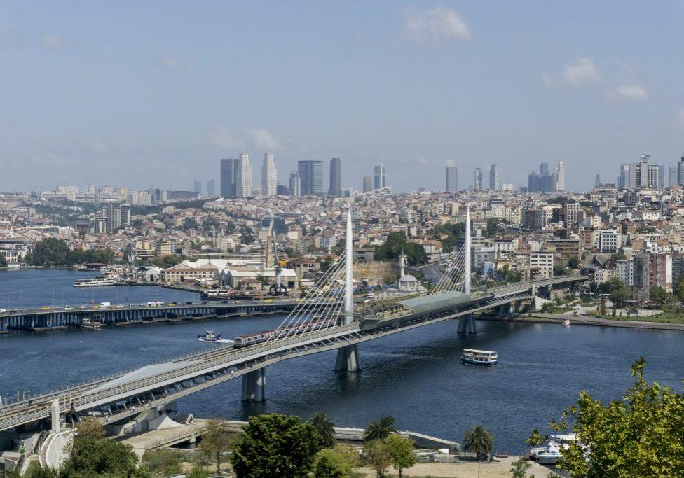 Турция Стамбул Мост Халич